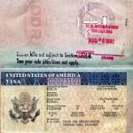 DDR-Reisepass mit USA Visum